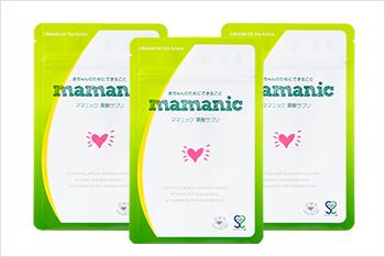 ママニック 葉酸サプリ 3個セット