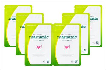 ママニック 葉酸サプリ 6個セット