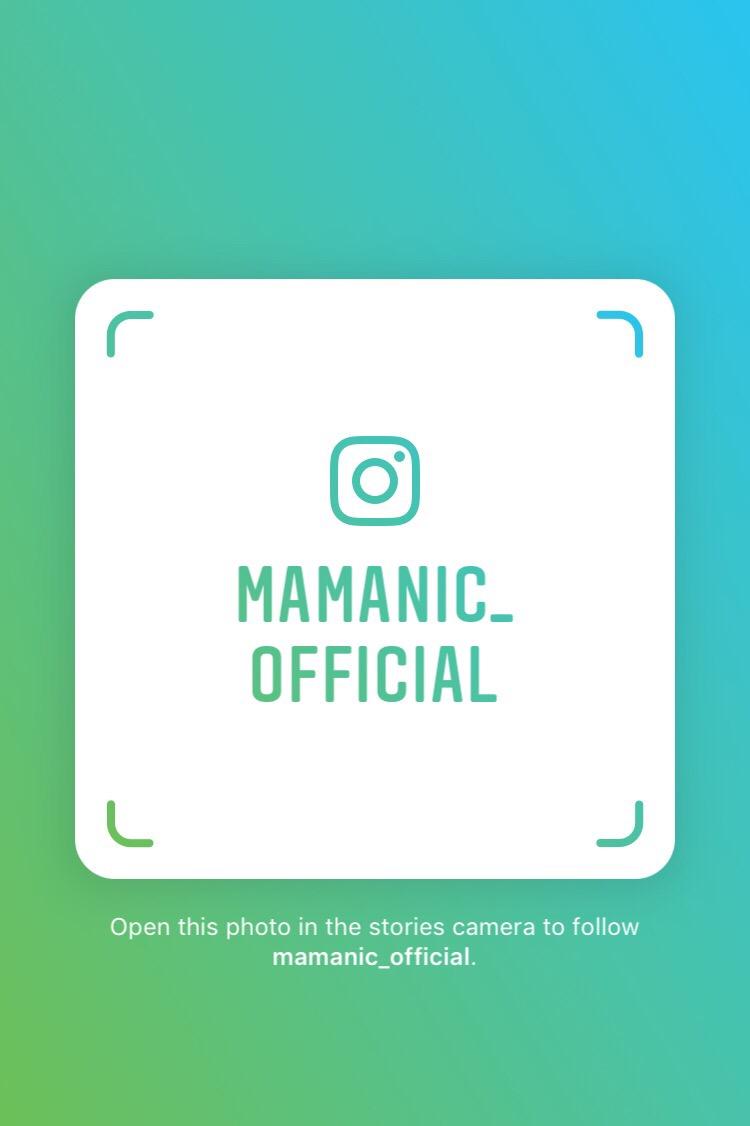 Instagram(インスタグラム)にてママニック公式アカウントを開設